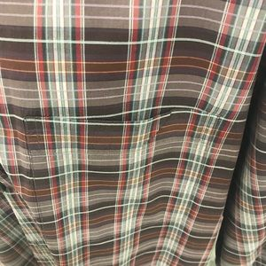 zegna sport Shirts - Zegna Sport Checkered Men's Button Down XL